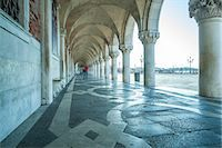 Arches of Doge's Palace, Venice, UNESCO World Heritage Site, Veneto, Italy, Europe Stock Photo - Premium Rights-Managednull, Code: 841-07523857