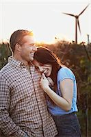 Young Couple In Field, Craoatia, Europe Stock Photo - Premium Royalty-Freenull, Code: 6115-07539600