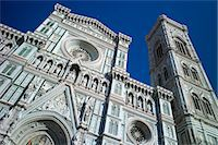 Il Duomo di Firenze, Cathedral of Florence, and campanile bell tower in Piazza di San Giovanni, Tuscany, Italy Stock Photo - Premium Rights-Managed, Artist: Robert Harding Images, Code: 841-07540575