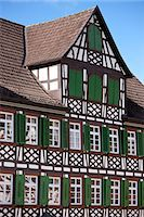 quaint house - Timber-framed Guesthouse Sonne in Schiltach in the Bavarian Alps, Germany Stock Photo - Premium Rights-Managed, Artist: Robert Harding Images, Code: 841-07540665