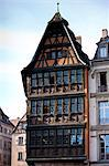 Kammerzell House, 15th & 16th Century medieval building in Cathedral Square at Strasbourg, Alsace, France Stock Photo - Premium Rights-Managed, Artist: Robert Harding Images, Code: 841-07540671