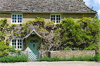 Traditional Cotswold stone wysteria-clad cottage in the quaint village of Eastleach Turville in the Cotswolds, Gloucestershire, UK Stock Photo - Premium Rights-Managed, Artist: Robert Harding Images, Code: 841-07540713