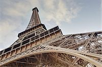 The Eiffel Tower towers overhead, Paris, France, Europe Stock Photo - Premium Rights-Managednull, Code: 841-07541160
