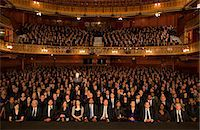 Spotlight on audience member in theater Stock Photo - Premium Royalty-Freenull, Code: 6113-07542941