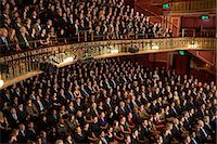 Audience watching performance in theater Stock Photo - Premium Royalty-Freenull, Code: 6113-07542947