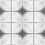 Design seamless monochrome diamond pattern. Abstract geometric textured background. Vector art