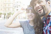 Tourist couple sightseeing, Plaza de la Virgen, Valencia, Spain Stock Photo - Premium Royalty-Freenull, Code: 649-07560089