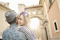 Young couple hugging, Valencia, Spain Stock Photo - Premium Royalty-Freenull, Code: 649-07560101