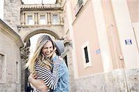 Romantic young couple hugging, Valencia, Spain Stock Photo - Premium Royalty-Freenull, Code: 649-07560102