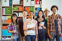 Portrait of confident creative business people in office Stock Photo - Premium Royalty-Freenull, Code: 6113-07565865