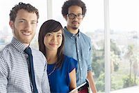 Portrait of confident business people Stock Photo - Premium Royalty-Freenull, Code: 6113-07565955
