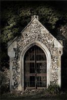 Derelict overgrown church, Norfolk, England. Stock Photo - Premium Rights-Managednull, Code: 700-07584743