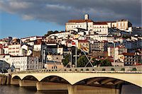 City view of old Coimbra town from the Mondego river, Beira Litoral, Portugal Stock Photo - Premium Rights-Managed, Artist: Arcaid, Code: 845-07584911