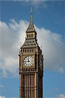 Big Ben in Elizabeth Tower of the Houses of Parliament, London. Architects: Architects: Morley von Sternberg Stock Photo - Premium Rights-Managed, Artist: Arcaid, Code: 845-07584965