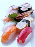 Sushi Stock Photo - Premium Rights-Managed, Artist: foodanddrinkphotos, Code: 824-07585962