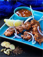 King prawn tandoori Stock Photo - Premium Rights-Managed, Artist: foodanddrinkphotos, Code: 824-07585980