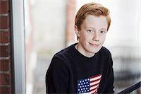 Portrait of confident high school boy Stock Photo - Premium Royalty-Freenull, Code: 698-07588305