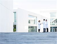 people hospital - Doctors talking on rooftop Stock Photo - Premium Royalty-Freenull, Code: 6113-07589232