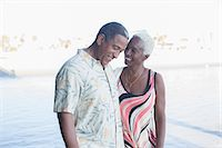 Senior couple walking on beach Stock Photo - Premium Royalty-Freenull, Code: 6113-07589477