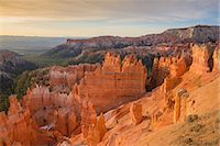 Bryce Canyon at dawn, from Sunset Point, Bryce Canyon National Park, Utah, United States of America, North America Stock Photo - Premium Rights-Managednull, Code: 841-07590149