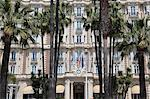 Carlton Hotel, Carlton InterContinental, La Croisette, Cannes, Cote d'Azur, Provence, French Riviera, France, Europe