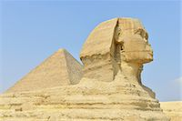 Great Sphinx of Giza Stock Photo - Premium Royalty-Freenull, Code: 6106-07594562
