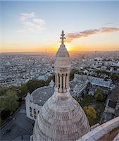 Basilique du Sacré Coeur, one of the small domes Stock Photo - Premium Royalty-Freenull, Code: 6106-07594814