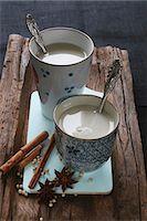 Chai tea, cinnamon sticks, star anise and peppercorns Stock Photo - Premium Royalty-Free, Artist: foodanddrinkphotos, Code: 659-07597588