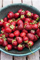 strawberries - Strawberries in a bowl Stock Photo - Premium Royalty-Freenull, Code: 659-07597666