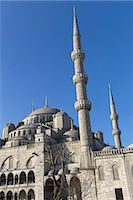 The Blue Mosque or Sultan Ahmed Mosque in Turkish Stock Photo - Premium Royalty-Freenull, Code: 6106-07602239