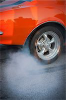 Skidding tire Stock Photo - Premium Royalty-Freenull, Code: 6102-07602811