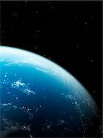 Earth from space, computer artwork. Stock Photo - Premium Royalty-Freenull, Code: 679-07603790