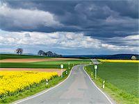 road trip - Scenic view of highway with bus stop, Weser Hills, North Rhine-Westphalia, Germany Stock Photo - Premium Royalty-Free, Artist: Norbert Schäfer, Code: 600-07608327