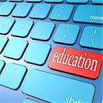 Education keyboard