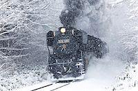 steam engine - Niigata Prefecture, Japan Stock Photo - Premium Rights-Managednull, Code: 859-07635763