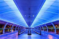 futuristic - Europe, United Kingdom, England, Lancashire, Manchester, Manchester Airport Stock Photo - Premium Rights-Managednull, Code: 862-07650634