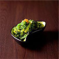 Wakame salad Stock Photo - Premium Royalty-Freenull, Code: 652-07655722