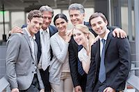 Business executive team, portrait Stock Photo - Premium Royalty-Freenull, Code: 632-07674454