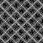 Design seamless diamond web pattern. Abstract monochrome diagonal background. Vector art