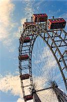 dpruter - Austria, Osterreich. Vienna, Wien. Ferris wheel at the Wiener Prater. Stock Photo - Premium Rights-Managed, Artist: AWL Images, Code: 862-07689816