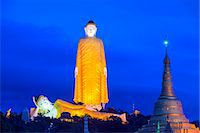 South East Asia, Myanmar, Monywa, Bodhi Tataung, largest buddha statue in the world Stock Photo - Premium Rights-Managednull, Code: 862-07690452