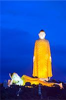 South East Asia, Myanmar, Monywa, Bodhi Tataung, largest buddha statue in the world Stock Photo - Premium Rights-Managed, Artist: AWL Images, Code: 862-07690453