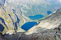 Europe, Poland, Carpathian Mountains, Zakopane, Lake Morskie Oko (Eye of the Sea) Stock Photo - Premium Rights-Managed, Artist: AWL Images, Code: 862-07690589