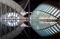 puentes - Europe, Spain, Valencia, City of Arts and Sciences, Principe Felipe Science Museum and Hemisferic Stock Photo - Premium Rights-Managednull, Code: 862-07690906
