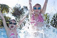 Kids on holiday Stock Photo - Premium Royalty-Freenull, Code: 6122-07692581