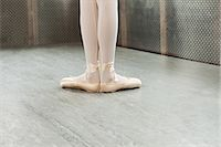 Feet of ballerina in first position Stock Photo - Premium Royalty-Freenull, Code: 6122-07695420