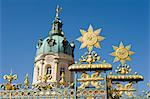 Gates, Charlottenburg Palace, Berlin, Germany