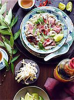 sprout - Still life of pho bo hero, vietnamese meal Stock Photo - Premium Royalty-Freenull, Code: 649-07710537