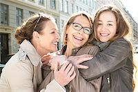 Portrait of three generation females in the city Stock Photo - Premium Royalty-Freenull, Code: 649-07710769