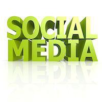 Social media word Stock Photo - Royalty-Freenull, Code: 400-07714196